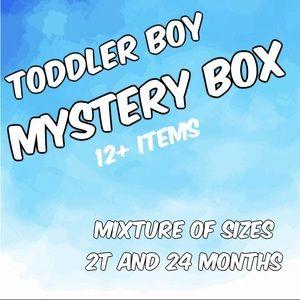 Toddler Boy Mystery Box 24M 2T Shirts Shorts Pants
